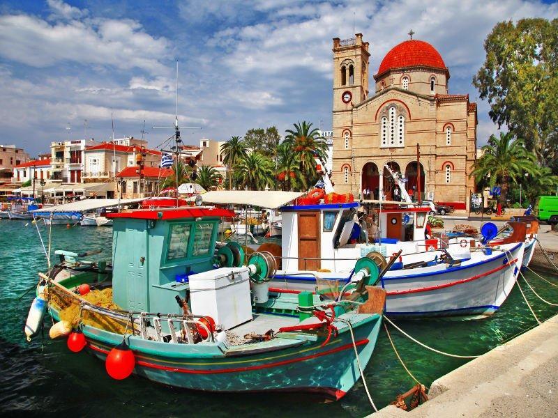 La Isla de Aegina