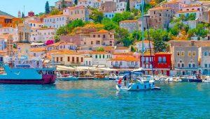 Port of Hydra Island